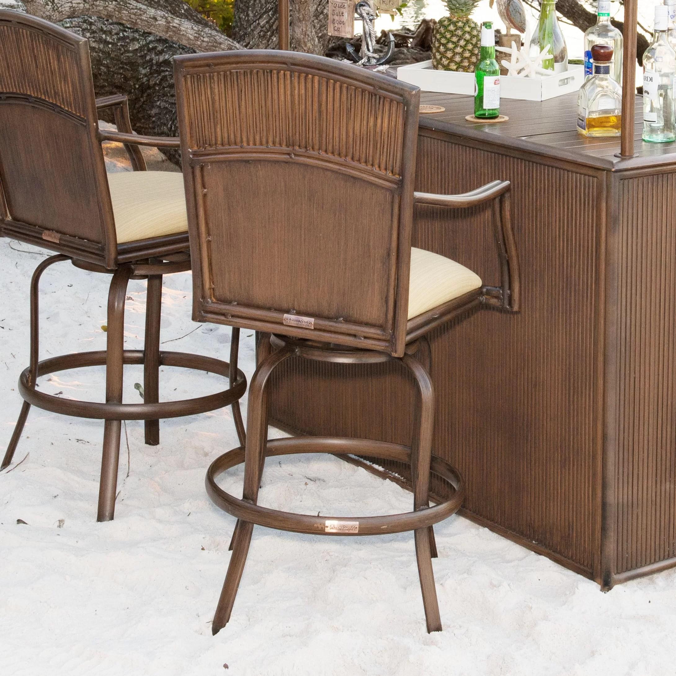 "Panama Jack Tiki 30"" Barstool & Reviews | Wayfair.ca on Backyard Tiki Bar For Sale id=87062"
