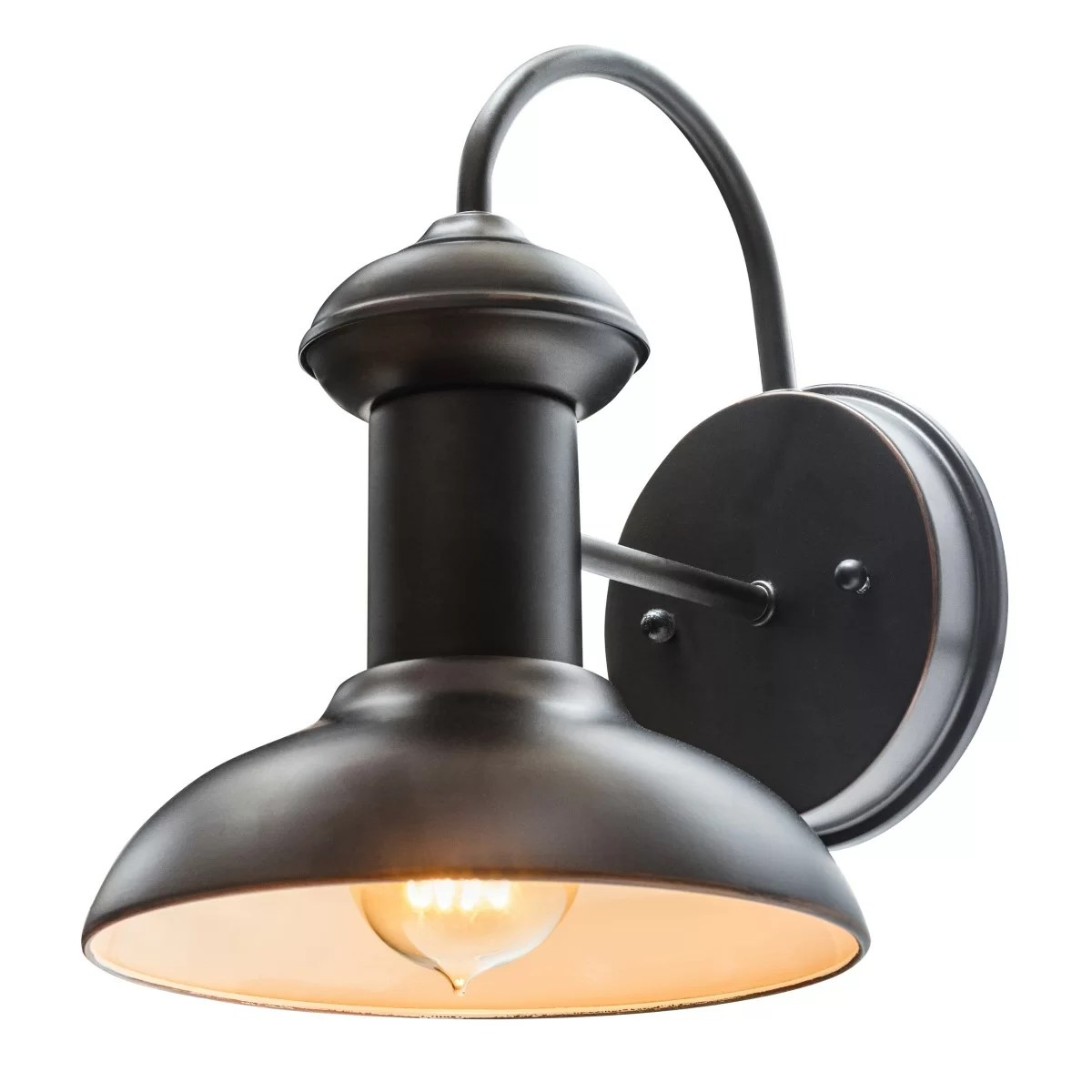 """Globe Electric Company Martes 10"""" Indoor/Outdoor Wall ... on Sconce Outdoor Lighting id=62005"""