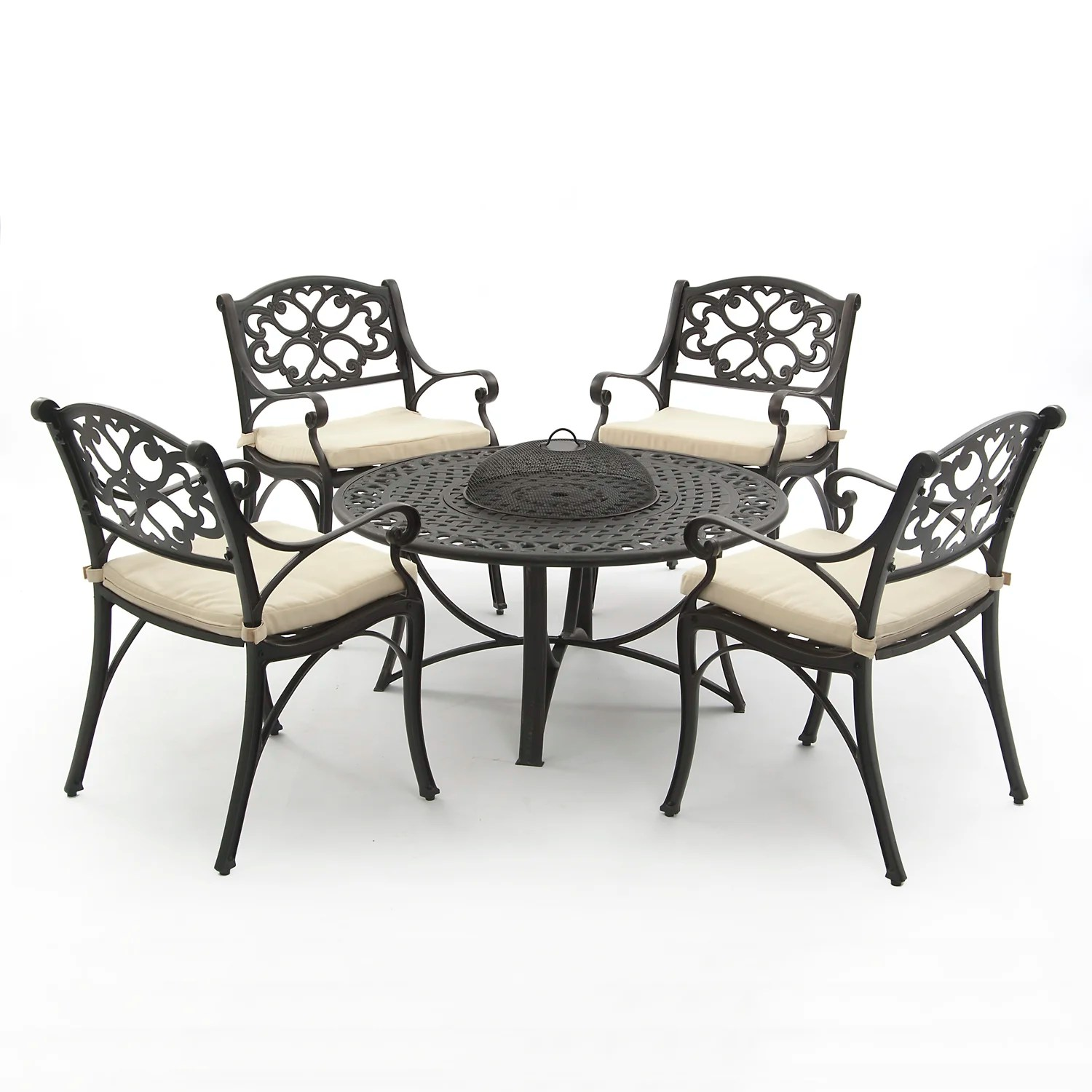 SunTime Outdoor Living Oregon 5 Piece Dining Set with ... on Suntime Outdoor Living  id=94964