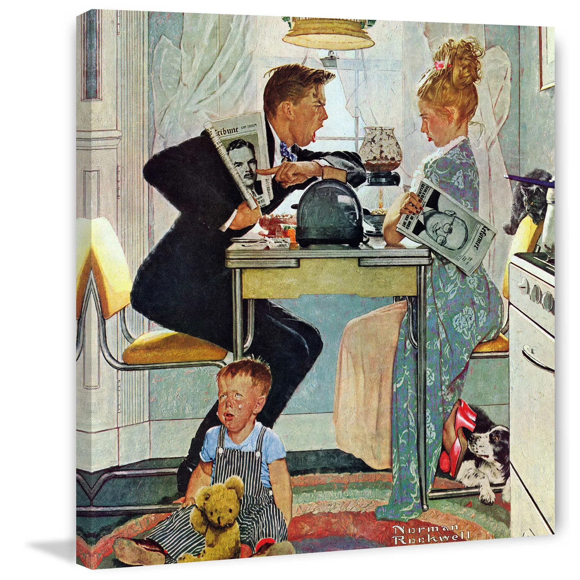 Rockwell Christmas Cards