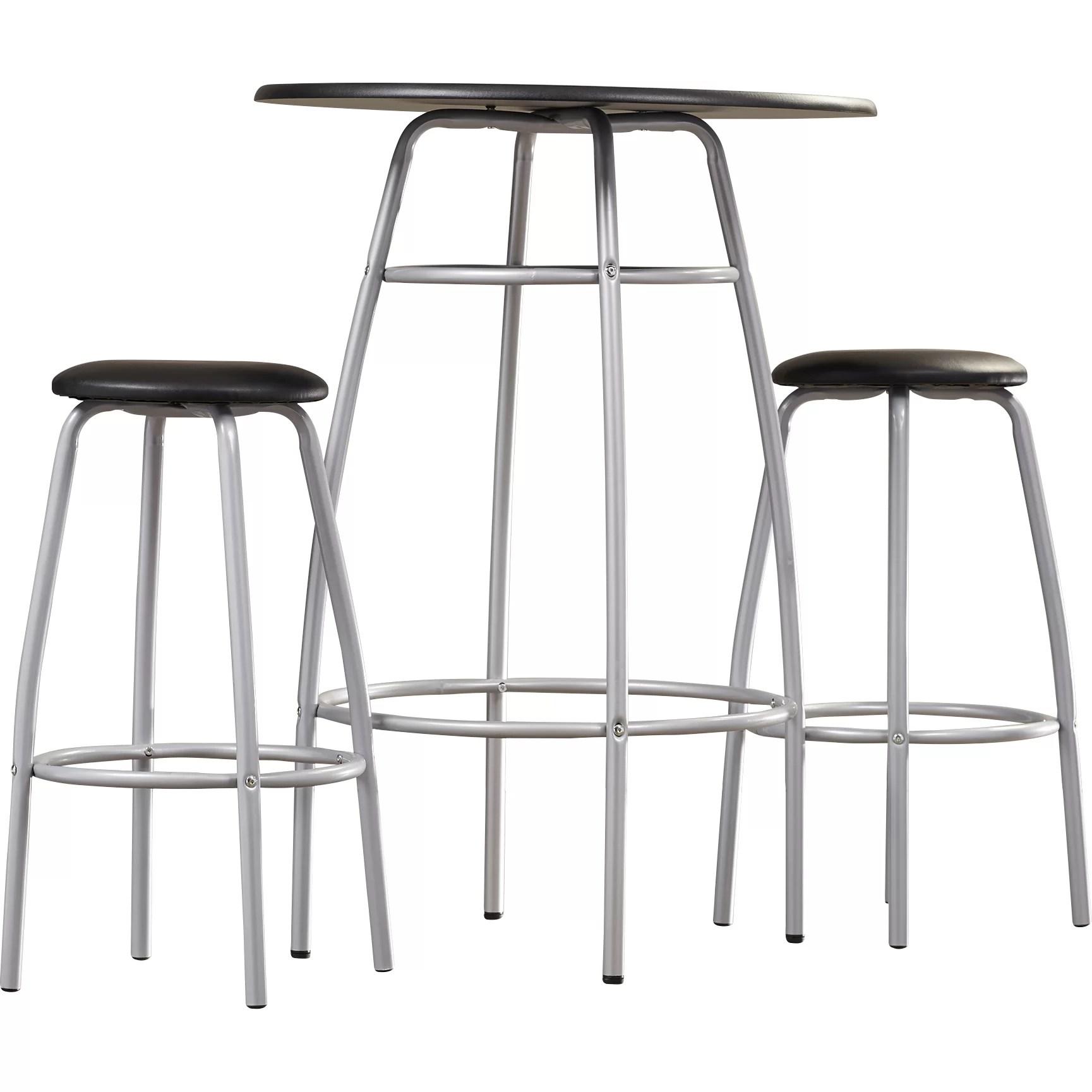 Zipcode Design Olga 3 Piece 42 Pub Table Amp Stool Set