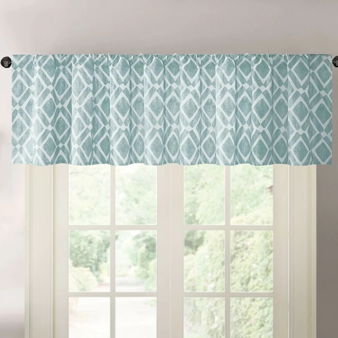 Varick Gallery Lippert Print Light Filtering Curtain
