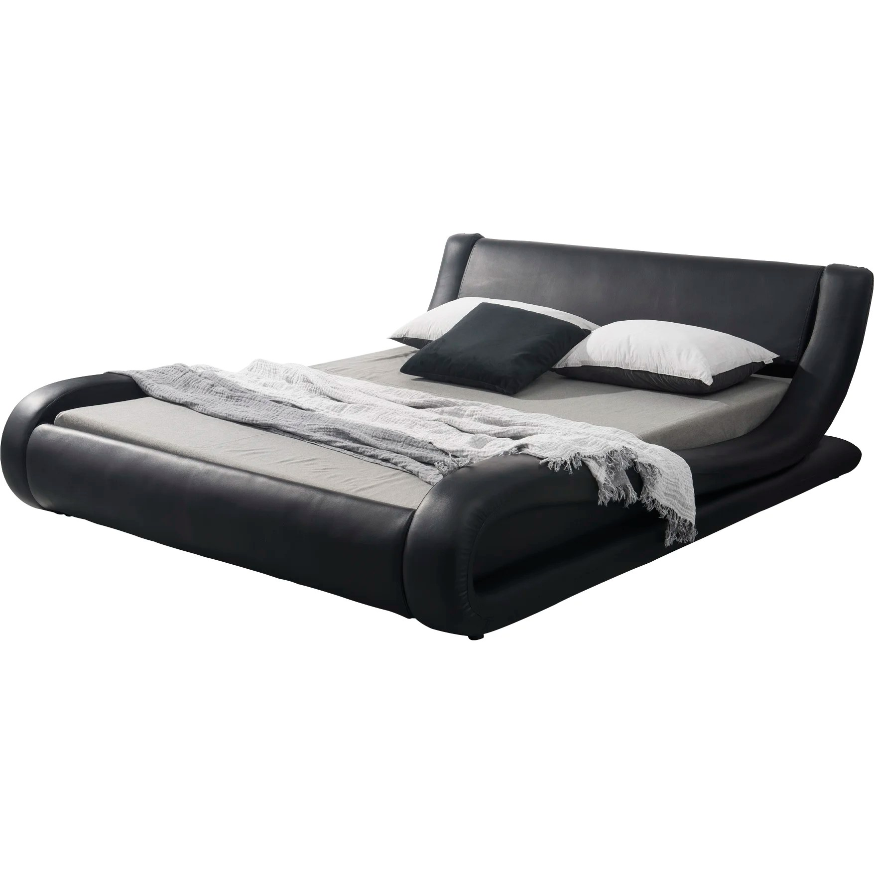 Container Upholstered Platform Bed Amp Reviews