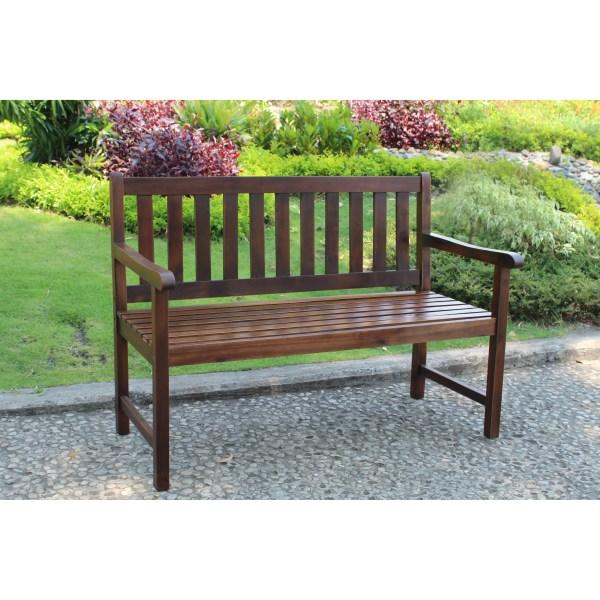 hardwood garden bench Breakwater Bay Sandy Point Acacia Wood Garden Bench