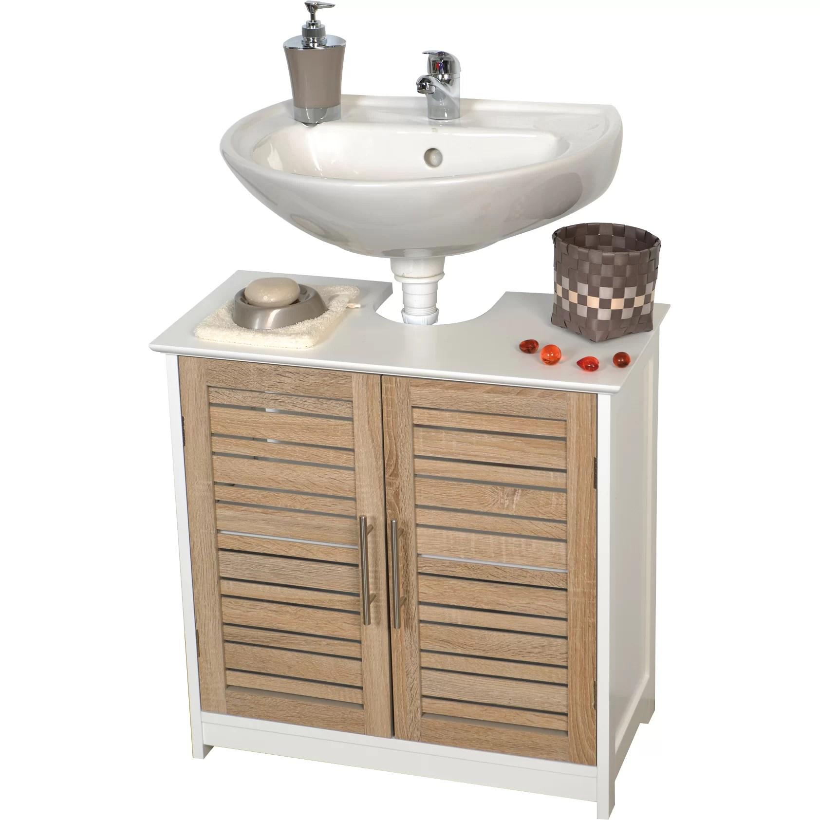 Evideco Stockholm 23 6 Bath Under Sink Storage Vanity