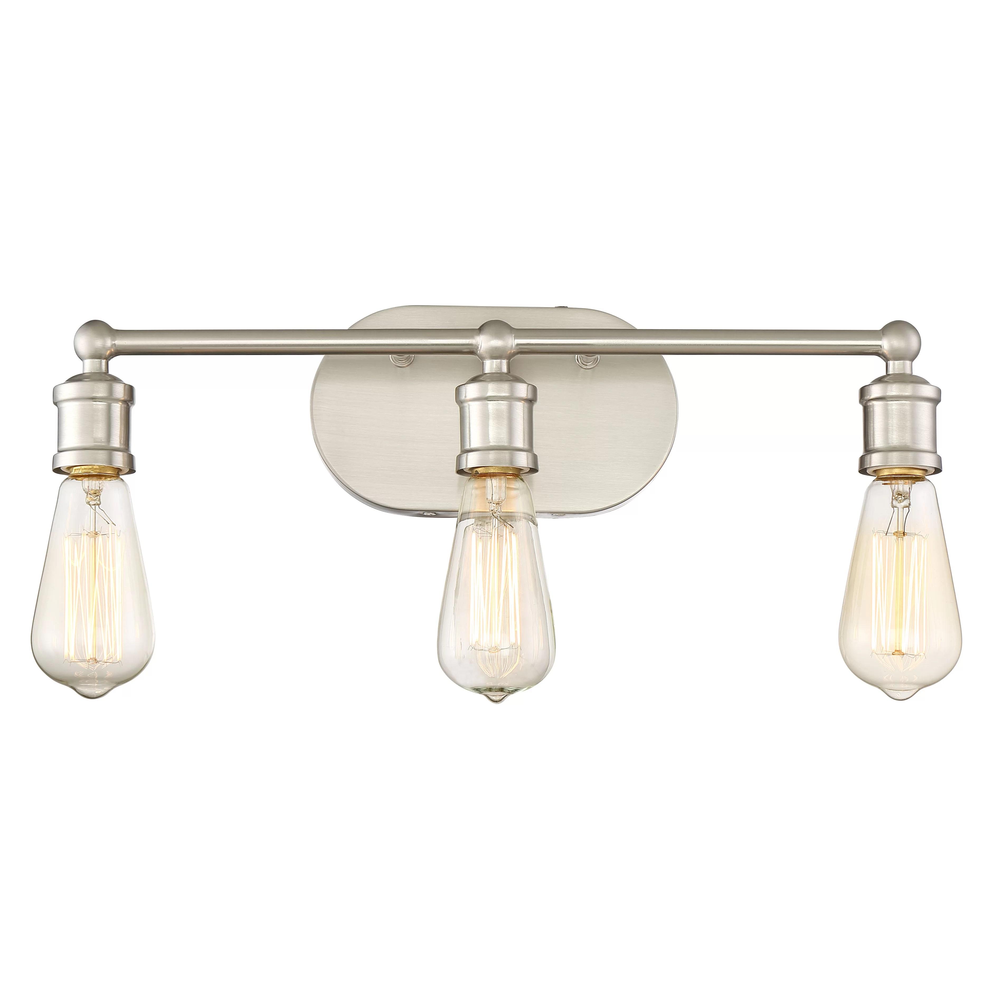 Laurel Foundry Modern Farmhouse Agave 3 Light Vanity Light ... on Wayfair Bathroom Sconces id=60636