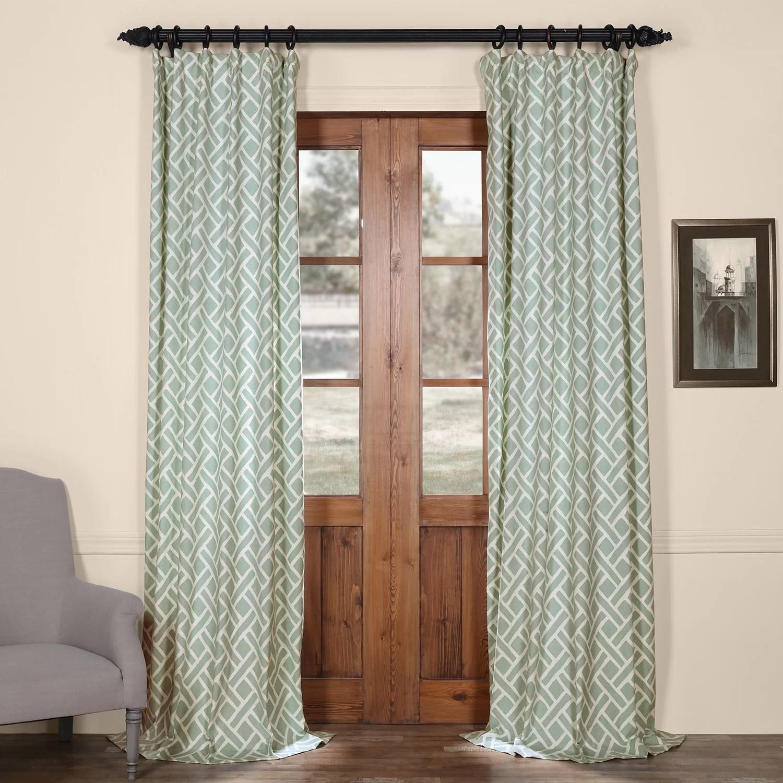 Laurel Foundry Modern Farmhouse Amandier Single Curtain ... on Farmhouse Bedroom Curtain Ideas  id=94135