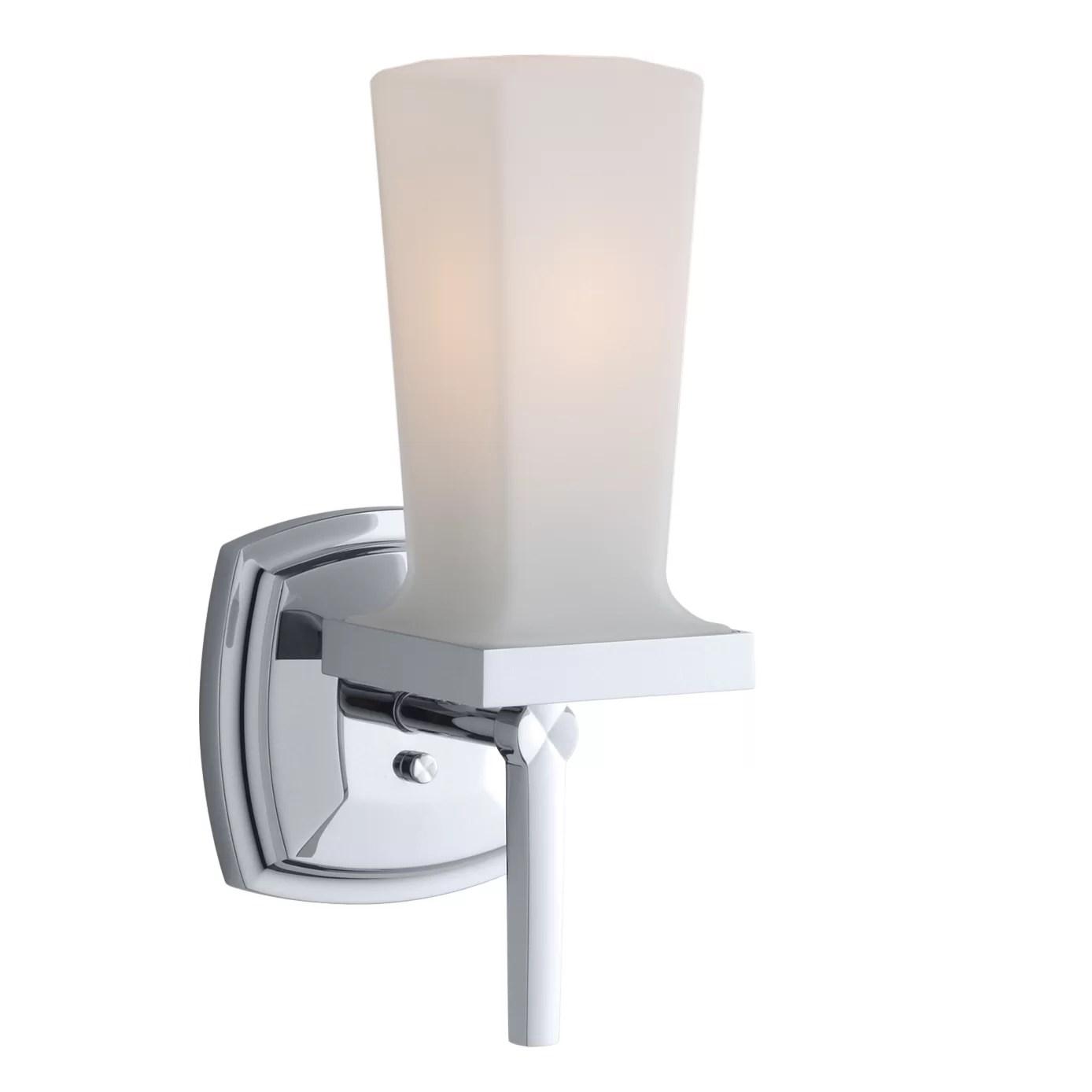 Kohler Margaux 1 Light Bath Sconce & Reviews   Wayfair.ca on Wayfair Bathroom Sconces id=53836