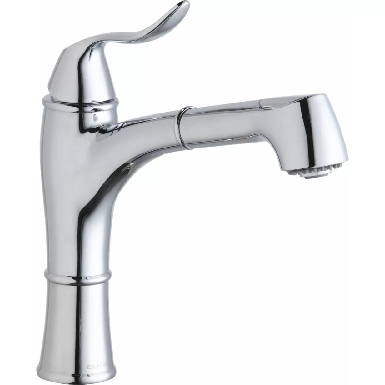 Elkay Explore Single Handle Deck Mount Kitchen Faucet With