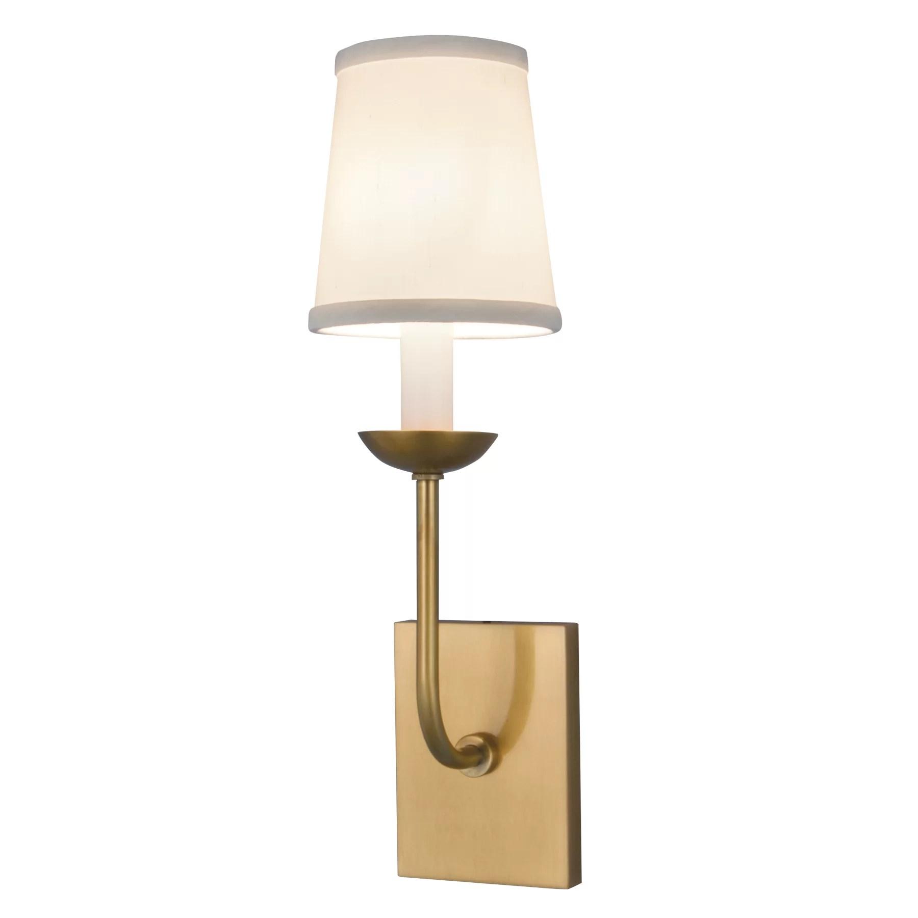 Norwell Lighting Circa 1 Light Wall Sconce & Reviews   Wayfair on Wayfair Bathroom Sconces id=36014