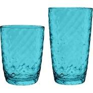 Azura Double Old Fashioned and Jumbo 12 Piece Acrylic Drinkware Set