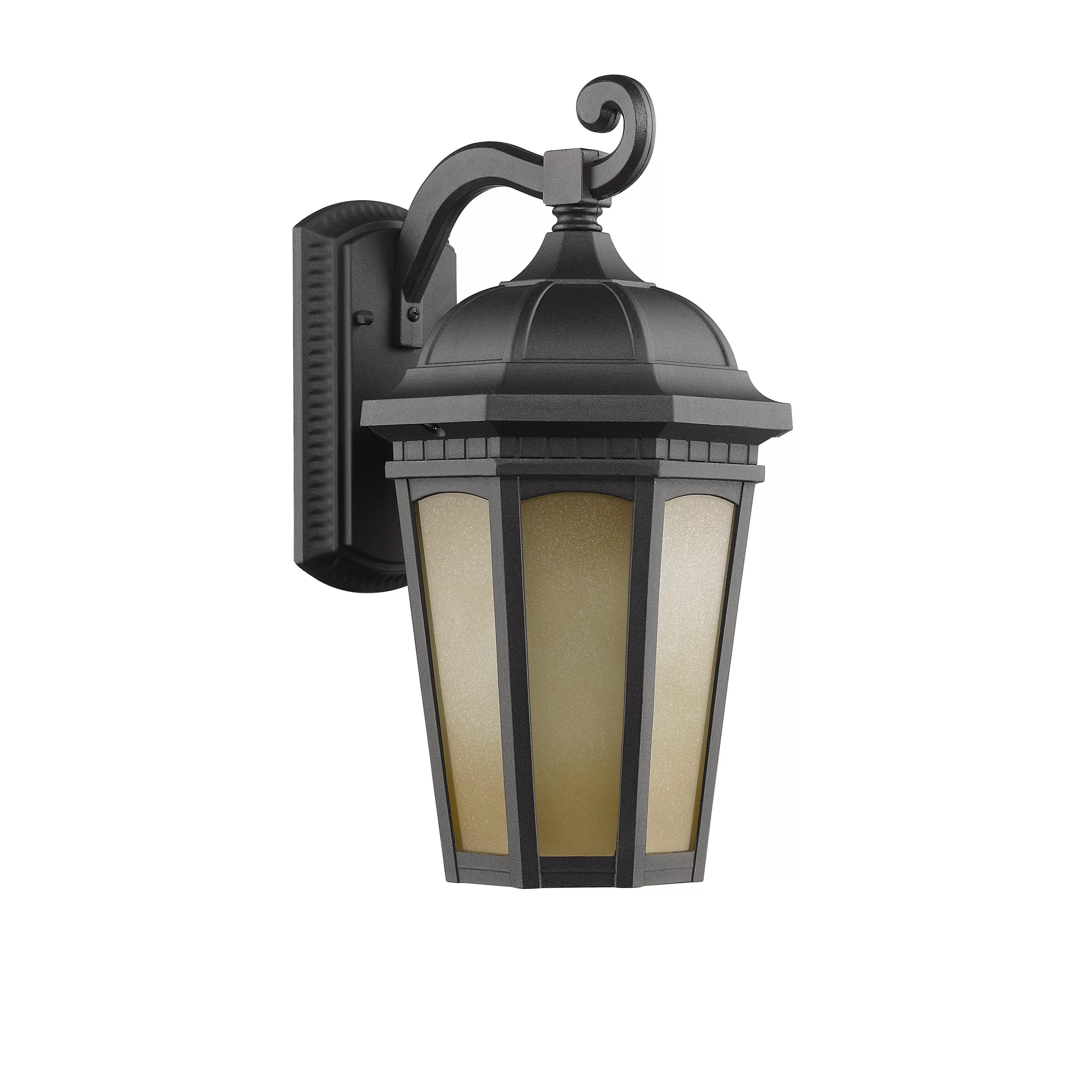 Telsa 1 Light Transitional Outdoor Wall Sconce | Wayfair on Sconce Outdoor Lighting id=30771