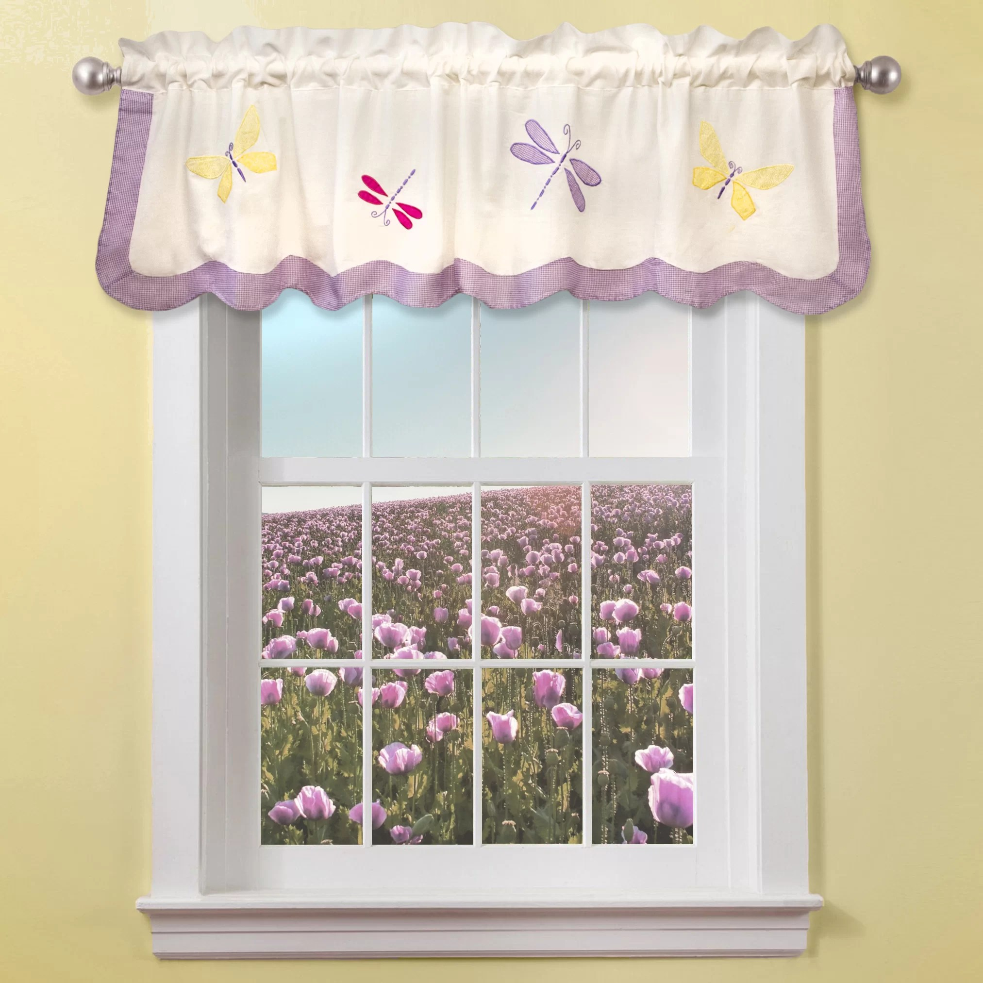 My World Dragonfly Butterfly 70 Curtain Valance Amp Reviews