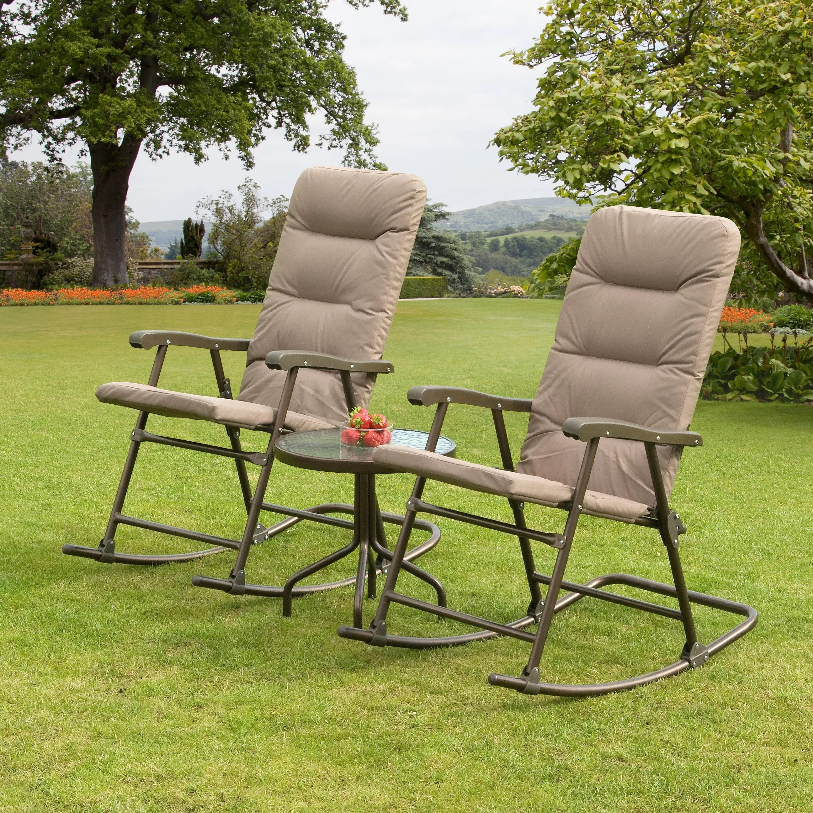 SunTime Outdoor Living Hereford 3 Piece Rocker Seating ... on Suntime Outdoor Living  id=51288