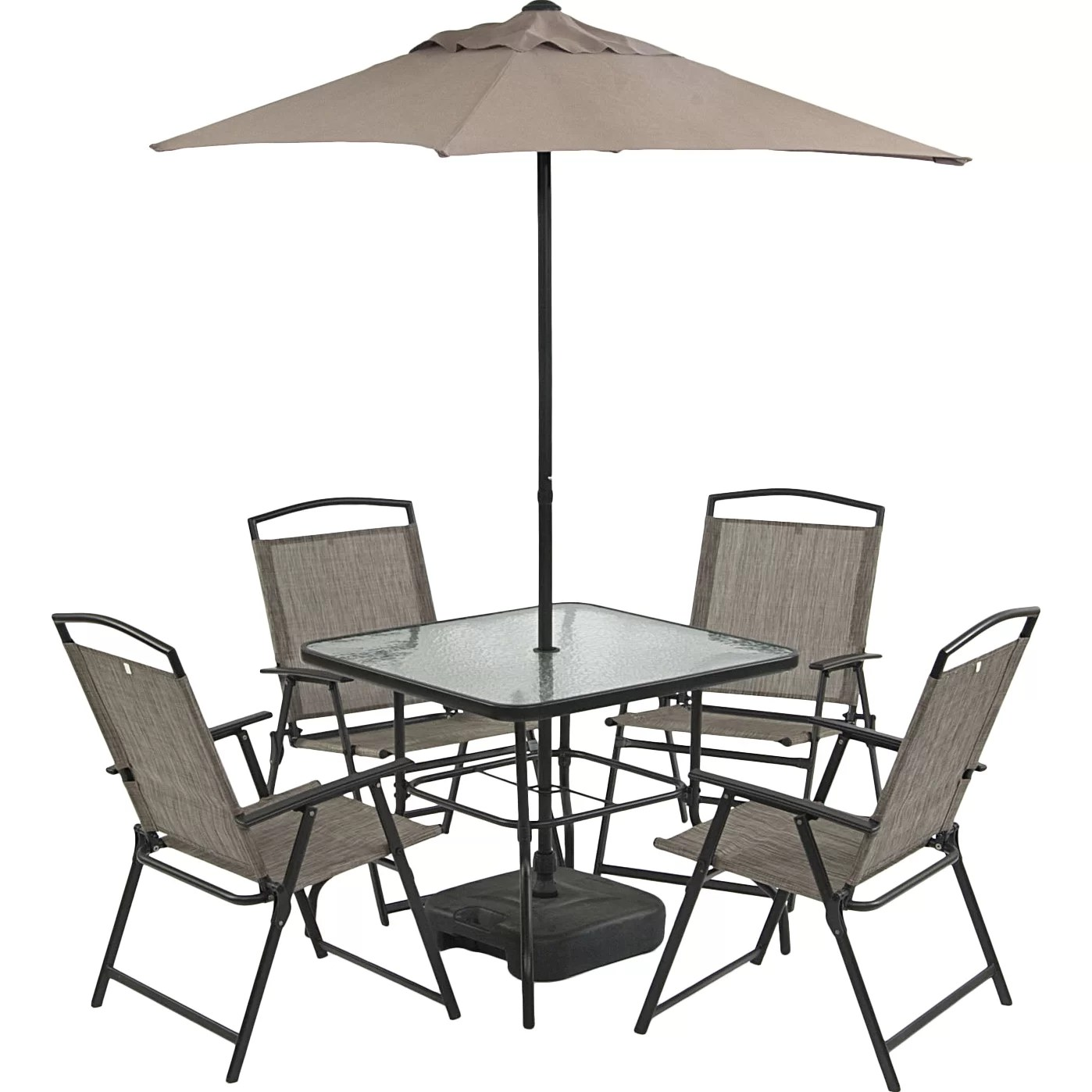 SunTime Outdoor Living Oasis 7 Piece Dining Set & Reviews ... on Suntime Outdoor Living  id=61051
