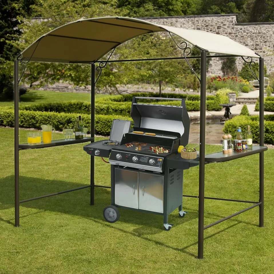 SunTime Outdoor Living 8ft. H x 8ft. W x 5ft. D BBQ Gazebo ... on Suntime Outdoor Living  id=16631