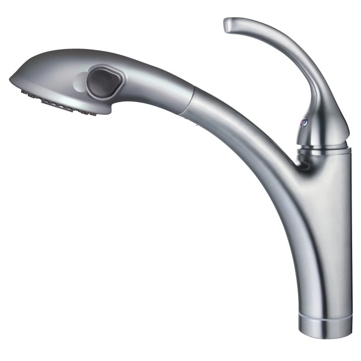 Hole Kitchen Faucet Pull Out Spout Sprayer Yosemite Home Decor