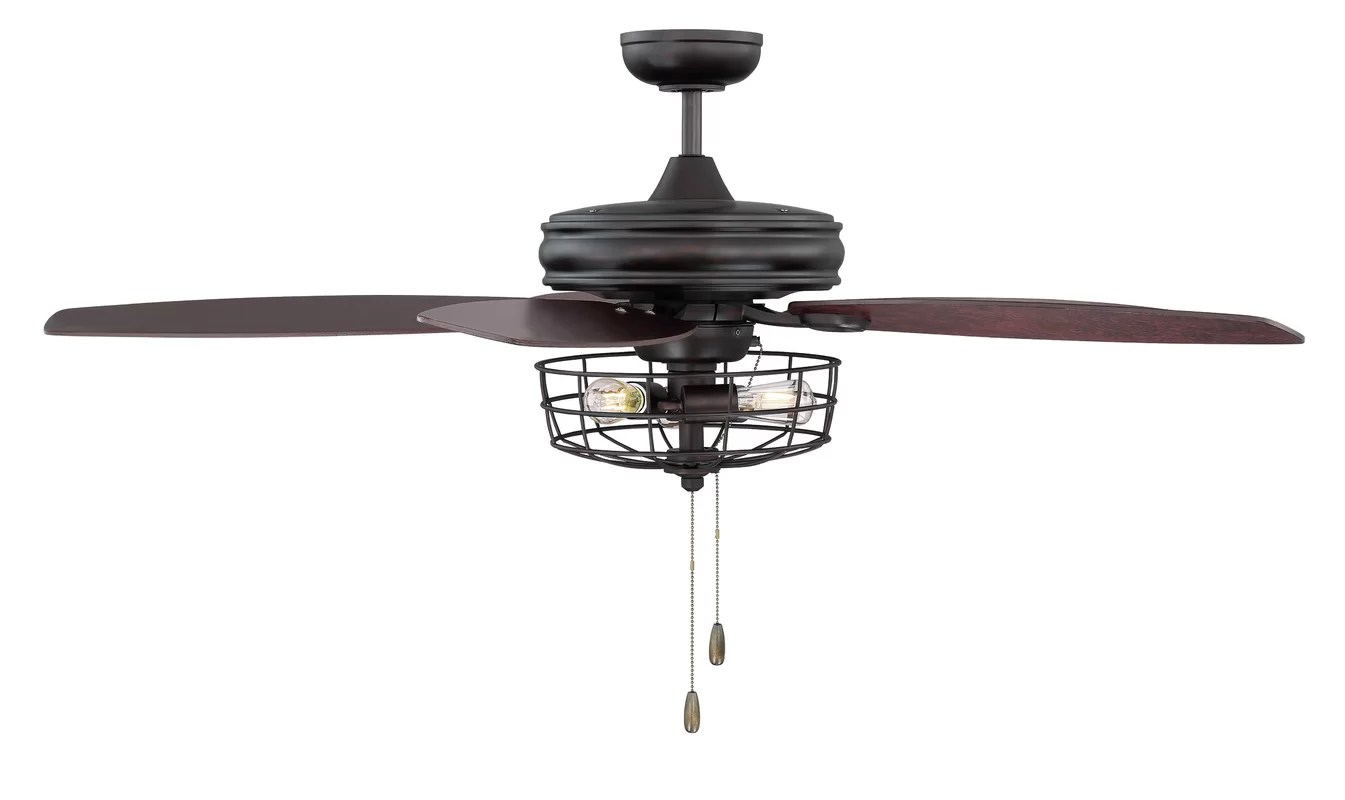Trent Austin Design Glenpool 52 5 Blade Ceiling Fan