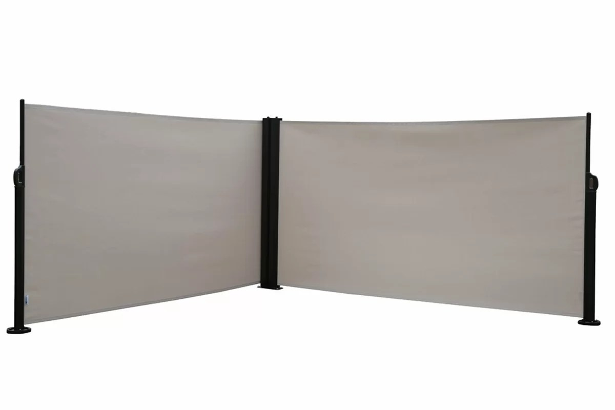 Abba Patio 624 X 2364 Retractable Folding Screen Fence Privacy 2 Panel Room Divider