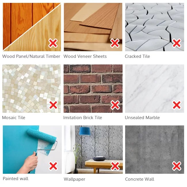 FECA Wall Mounted Rectangular Tissue Box Holder Cover ... on Wall Mounted Tissue Box Holder id=55437