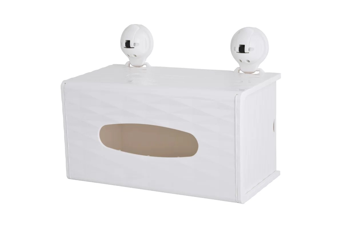 FECA Wall Mounted Rectangular Tissue Box Holder Cover ... on Wall Mounted Tissue Box Holder id=27422