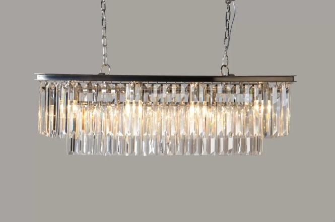 Bostick 8 Light Crystal Chandelier