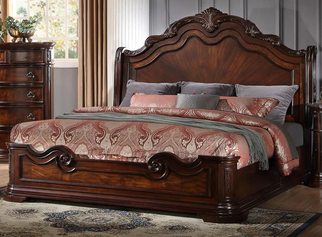 Astoria Grand Fletcher Panel 5 Piece Bedroom Set & Reviews