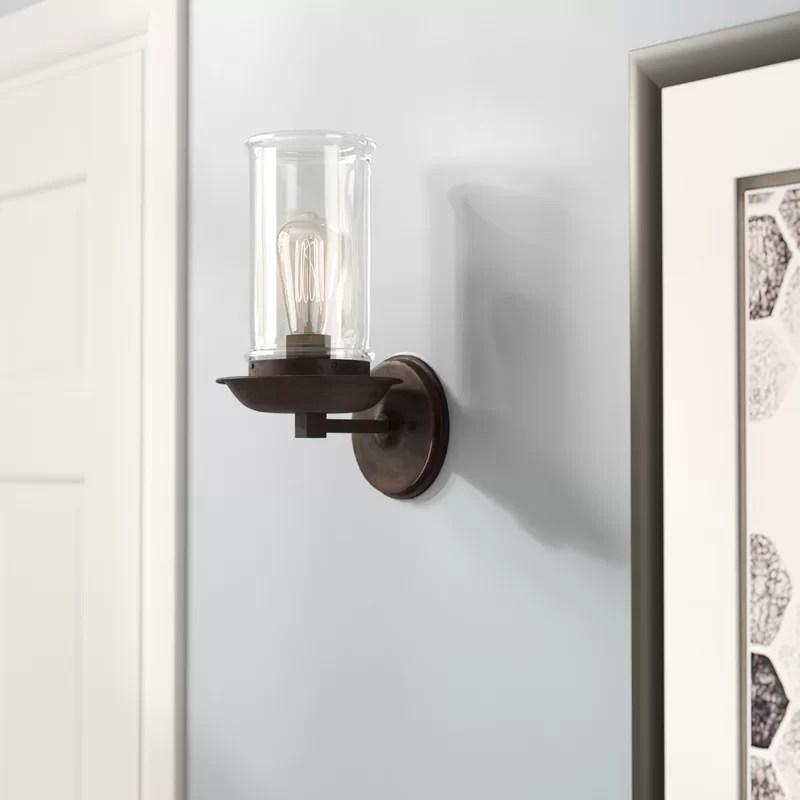 Sorrell 1-Light Wall Sconce & Reviews   AllModern on Wayfair Bathroom Sconces id=61998