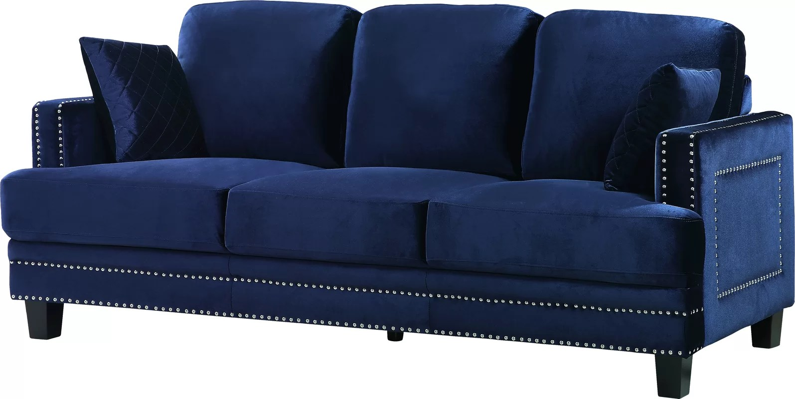 Nailhead Sofa Diana Nailhead Sofa The Dump Luxe Furniture