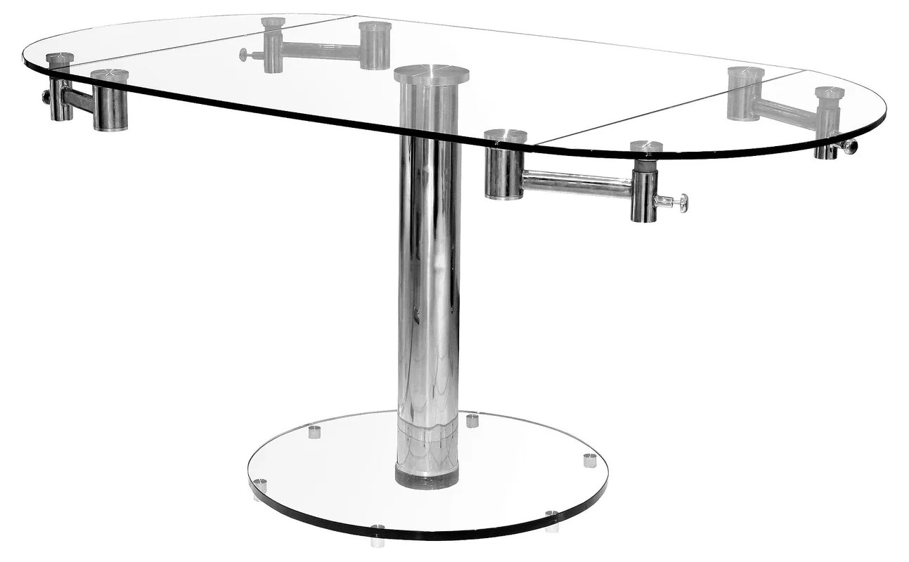 Thao Extendable Dining Table Amp Reviews