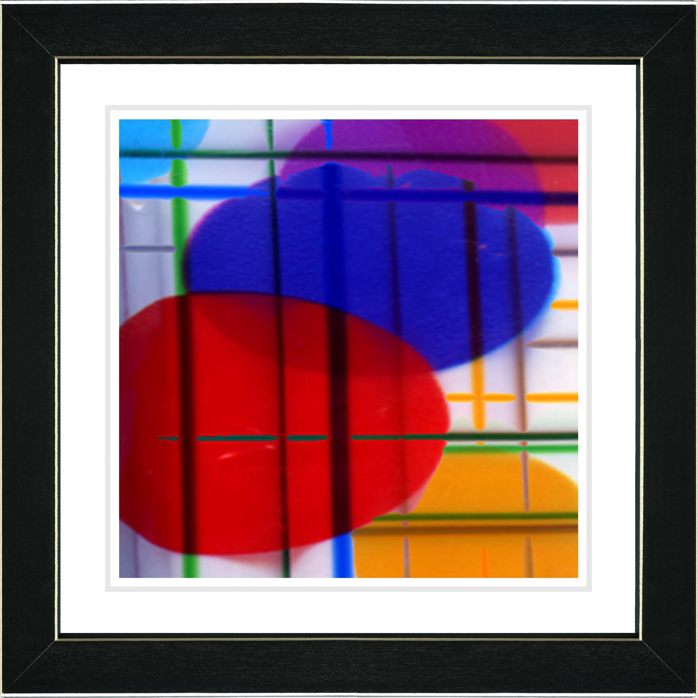 Studio Works Modern Closed Circuit By Zhee Singer Framed