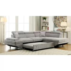 Sectionals You ll Love   Wayfair Aprie Sleeper Sectional Collection