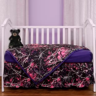 ensemble de literie pour lit de bebe 3 pieces muddy girl