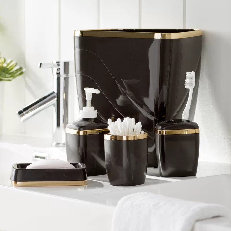 wayfair basics™ wayfair basics bathroom accessory set & reviews