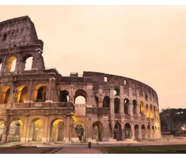 Colosseum Rome  6 Piece Wall Mural Set