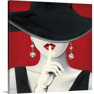 Red Wall Art Youll Love Wayfair
