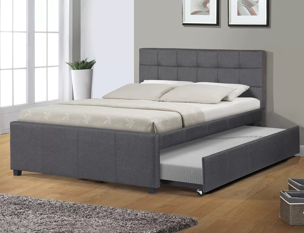 Full/Double Storage Platform Bed & Reviews