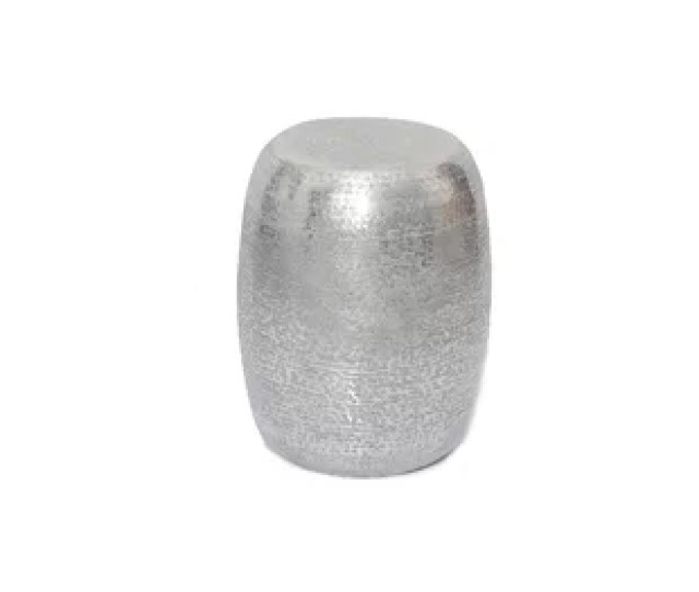 Marrakech Hammered Metal Round End Table