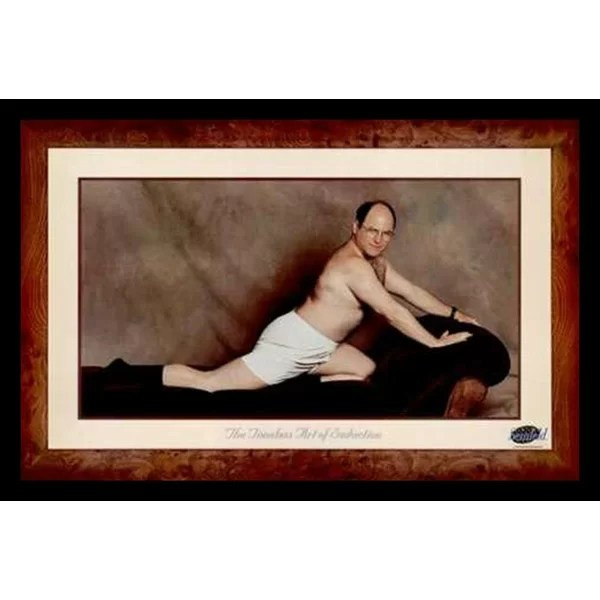 Buy Art For Less George Costanza The Timeless Art Of Seduction Framed Photographic Print
