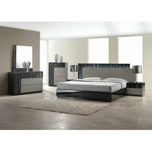 Modern   Contemporary Bedroom Sets   AllModern Kahlil Platform 5 Piece Bedroom Set