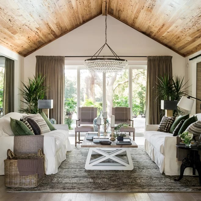 Sparse To Sleek The HGTV Dream Home 2017 Living Room