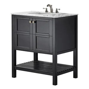 black bathroom vanities you'll love | wayfair