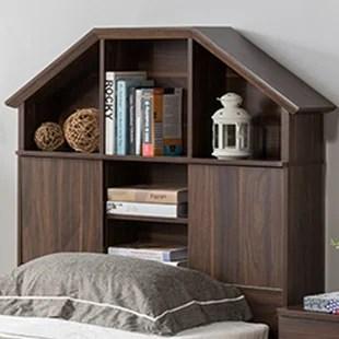 tete de lit bibliotheque marley