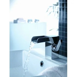 modern waterfall bathroom sink faucets | allmodern