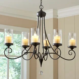 Osbourne 6 Light Candle Style Chandelier