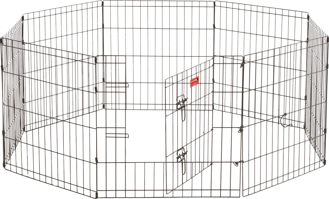 jewett cameron lucky dog 8 panel hd dog pen