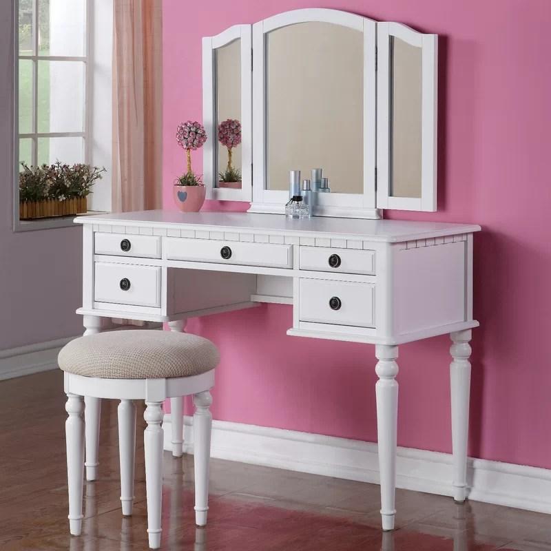 makeup tables and vanities you'll love | wayfair