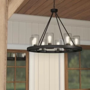 Outdoor Lighting You ll Love Mount Vernon 8 Light Outdoor Chandelier