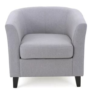 Image result for image for gray barrel chair