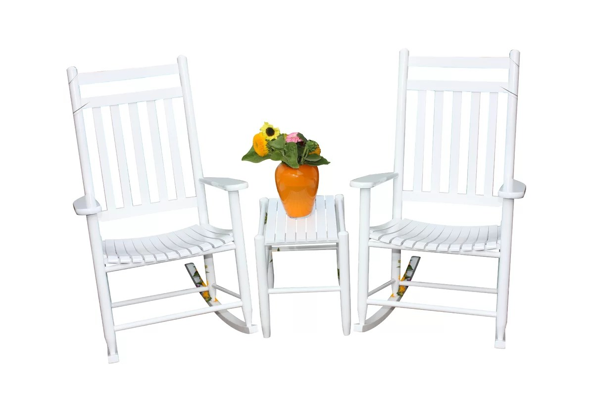Dixie Seating 3 Piece Conversation Set & Reviews